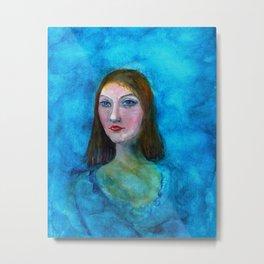 La Mona Metal Print