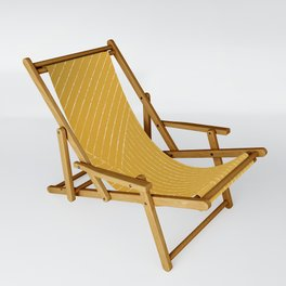 Lines (Mustard Yellow) Sling Chair
