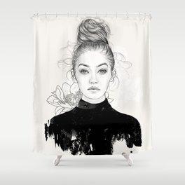 Gi Shower Curtain