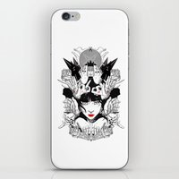 witchcraft iPhone & iPod Skins featuring Witchcraft by Sergio Saucedo