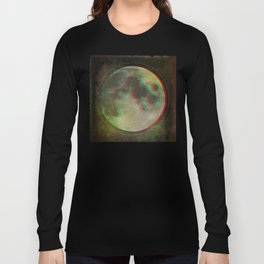 Stereo Moon Long Sleeve T-shirt