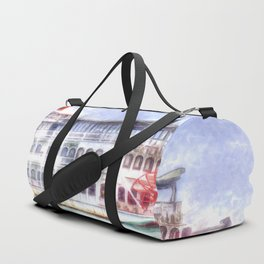 New Orleans Paddle Steamer Art Duffle Bag