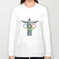 rio Long Sleeve T-shirts featuring RIO OLYMPICS by burga