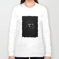daenerys Long Sleeve T-shirts featuring Cyborg Face by kattie flynn