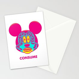 CONSUME Stationery Cards