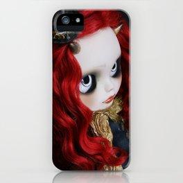 STEAMPUNK (Ooak  BLYTHE Doll) iPhone Case