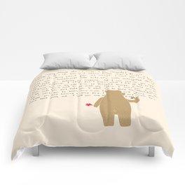 Writing Comforters