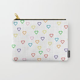 Candy Hearts Carry-All Pouch