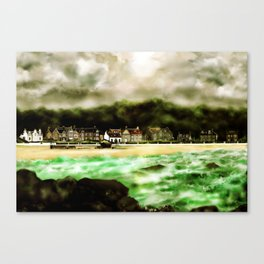 Millport Shore-Front, Isle of Cumbrae, West Coast of Scotland [3] Canvas Print