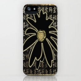 Chinoiserie Chinese Flower iPhone Case