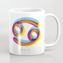 Cancer ~ Zodiac Coffee Mug