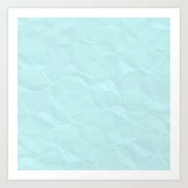 Crinkle Art Print