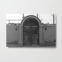 Door to Mexico Metal Print