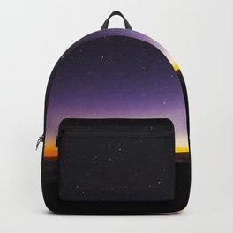 Haleakala Sunrise with Night Stars Backpack
