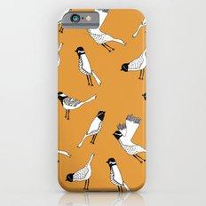Bird Print - Orange iPhone 6s Slim Case