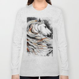 Dark Beauty Horse Long Sleeve T-shirt
