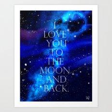 I Love You.. Art Print