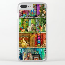 A Stitch In Time 2 Clear iPhone Case