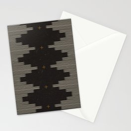 Southwestern Minimalist Black & White Stationery Cards
