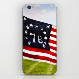 Bennington Flag iPhone Skin