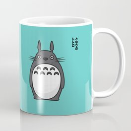 Totoro Pop Art - Blue Version Coffee Mug