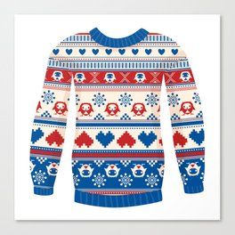 Cozy sweater Canvas Print