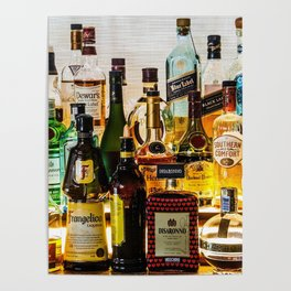 the bar Poster