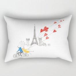 Paris in Love Rectangular Pillow