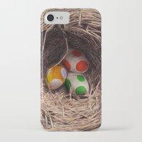 yoshi iPhone & iPod Cases featuring Yoshi Eggs by Eric Fan