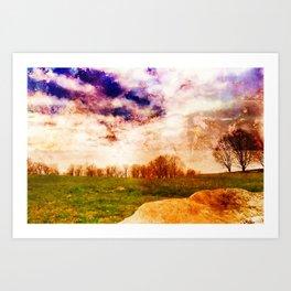 Mountain Meadow Art Print