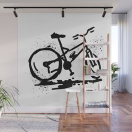 Rest bike Wall Mural