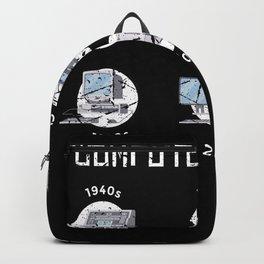 Computer History Computer Scientist Hacker It Backpack