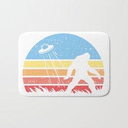 Sasquatch Bigfoot Alien UFO believer Gift Shirt Bath Mat