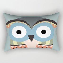 tribal owl Rectangular Pillow
