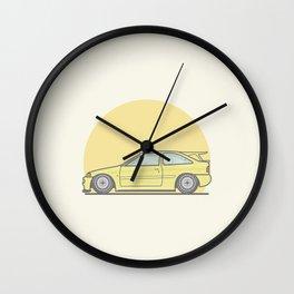 Ford Escort Cosworth vector illustration Wall Clock