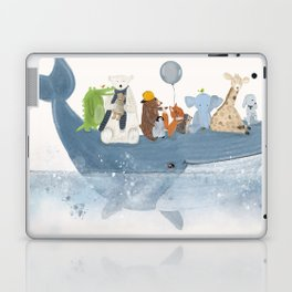 a whale of a time Laptop & iPad Skin