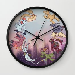 We're off! Wall Clock