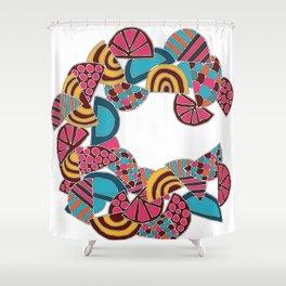 Letter C Shower Curtain