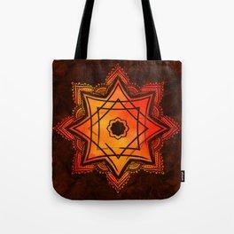 Watercolor Star of Lakshmi - Ashthalakshmi Tote Bag