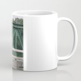 Green Patterns Coffee Mug