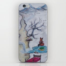 Streams of Consciousness iPhone Skin