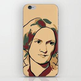 Charlotte Brontë iPhone Skin
