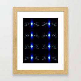 The Linked Rings Framed Art Print