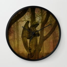 Waiting in Silence - Recoloured Wall Clock