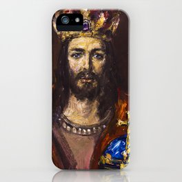 King of Majesty iPhone Case