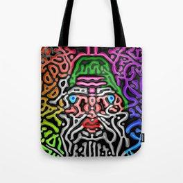 Colors, black, and me ... Tote Bag
