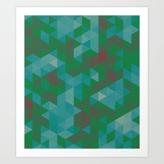 triangle 02 Art Print
