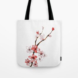 Cherry blossom 2 Umhängetasche