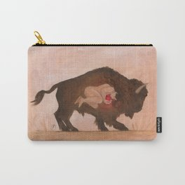Heart of the Buffalo Carry-All Pouch