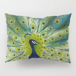 MONSIEUR PEACOCK Pillow Sham